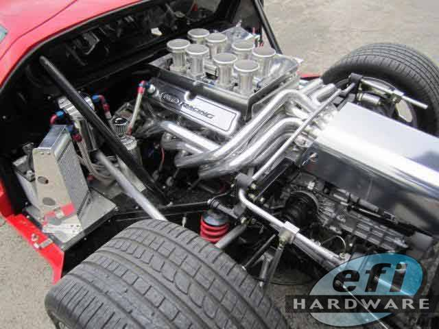 Ford Gt40 Replica V8 Engine Bay