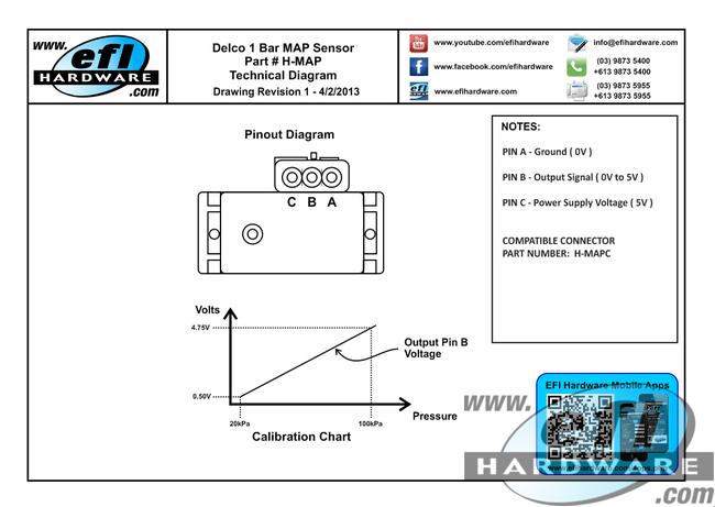 Efi 3 Wire Map Sensor Wiring Diagram - Product Wiring Diagrams •
