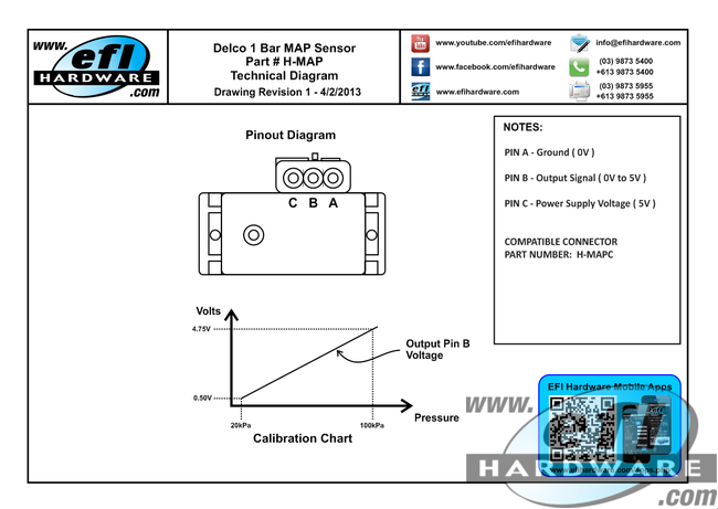 delco 1-bar map sensor honda map sensor wiring diagram #14