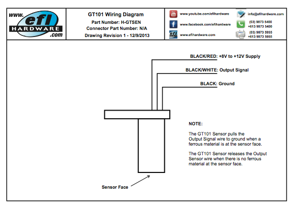 Gt101 Crank Sensor Wiring Pdf - WIRE Center •