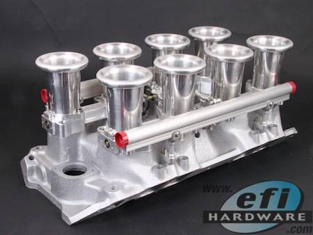 E Series Chev Big Block V Stack Injection System