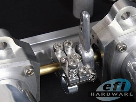 6 Cylinder Dcoe Throttle Block Efi Individual Throttle