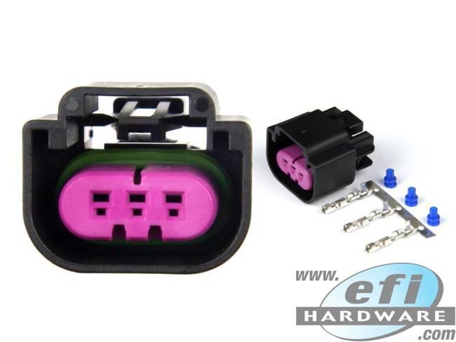 GM Flex Fuel Sensor Connector Black