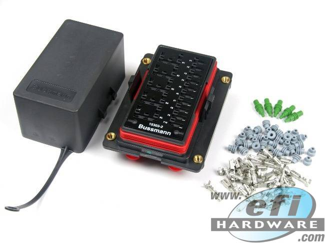 Bussman Power Distribution Module Fuse And Relay Box EFI Hardware