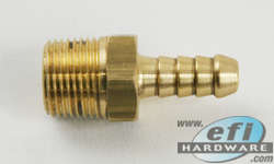 3/8 BSP - 5/16 barb fitting