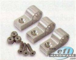 "Pipe clamps Silver 1/2"" 3 pack product image"