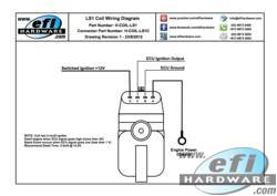 gm ls1 gen3 coil with igniter built in rh efihardware com Coil to Distributor Wiring LS1 Coil Pack Wiring