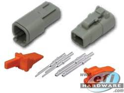Deutsch DTM Connector Kit - 4 Pin Set . . CLICK HERE FOR QUANTITY PRICE BREAKS