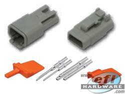 Deutsch DTM Connector Kit - 3 Pin Set . . CLICK HERE FOR QUANTITY PRICE BREAKS