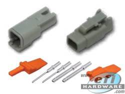 Deutsch DTM Connector Kit - 2 Pin Set . . CLICK HERE FOR QUANTITY PRICE BREAKS