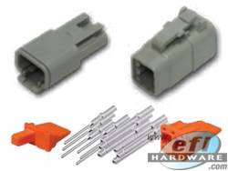 Deutsch DTM Connector Kit - 6 Pin Set . . CLICK HERE FOR QUANTITY PRICE BREAKS