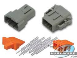 Deutsch DTM Connector Kit - 8 Pin Set . . CLICK HERE FOR QUANTITY PRICE BREAKS