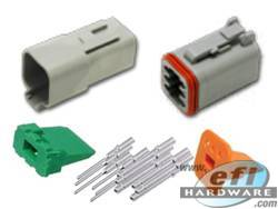 Deutsch DT Connector Kit - 6 Pin Set . . CLICK HERE FOR QUANTITY PRICE BREAKS product image