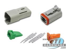 Deutsch DT Connector Kit - 4 Pin Set . . CLICK HERE FOR QUANTITY PRICE BREAKS