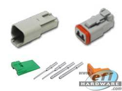 Deutsch DT Connector Kit - 2 Pin Set . . CLICK HERE FOR QUANTITY PRICE BREAKS