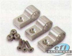 pipe clamp 3/8 silver (4Pkt) product image