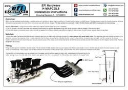 8 Cylinder MAP Sensor Collector