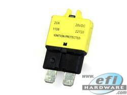 Circuit Breaker - Blade Fuse Type - 20A