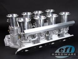E-Series Ford 351 Cleveland IDA Quad Stack Injection product image