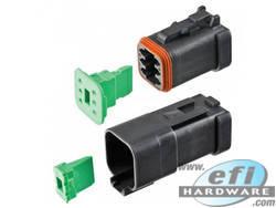 Deutsch DT CAT Spec 6 Way Connector Kit