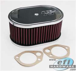 "air filter K&N dcoe 4.5 x7x3.25"" product image"
