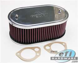 "air filter K&N dcoe 5.5x9x3.25"" product image"