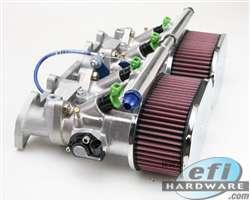 PRO-STREET 4cyl DCOE throttle body kit 40mm - 52mm product image