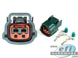 Nissan 2 Pin Connector Green product image