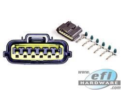 Nissan 6 Pin Igniter Connector Grey