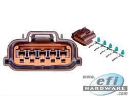 Nissan 5 Pin Misc Connector Brown