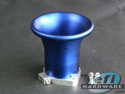 Extra Flow Ram Tubes (Velocity Stacks) 55mm Inc Base 95mm Long