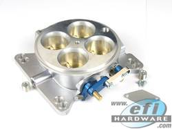 throttle body 4 barrel low profile 40mm