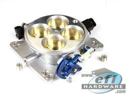 throttle body 4 barrel low profile 45mm kit
