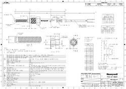 H-EGTH Honeywell Resistive EGT Sensor
