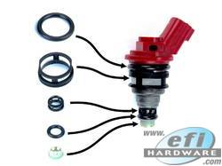 Nissan Side Feed Injector Service Kit
