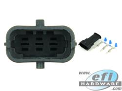3 Pin Module Connector - Male - Bosch