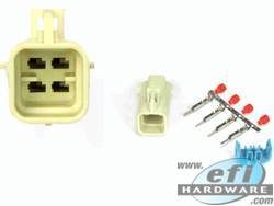 4 Pin Male GM Late Oxy Sensor Connector