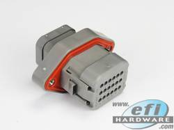 Deutsch 18 way DTV bulkhead connector